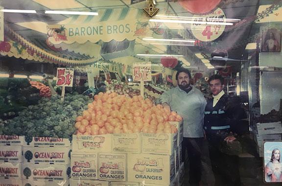 From left: Ignazio Barone, Filippo A. Barone