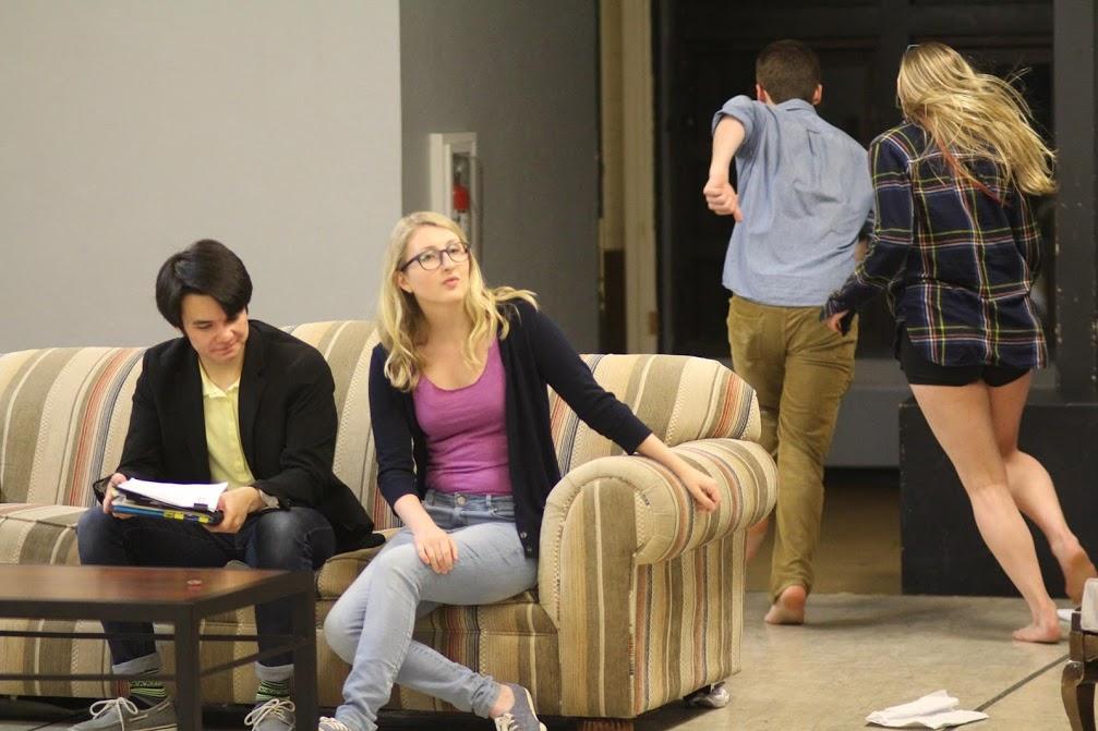 Kate in  Seminar . (Photos by Ali Wonderly.)