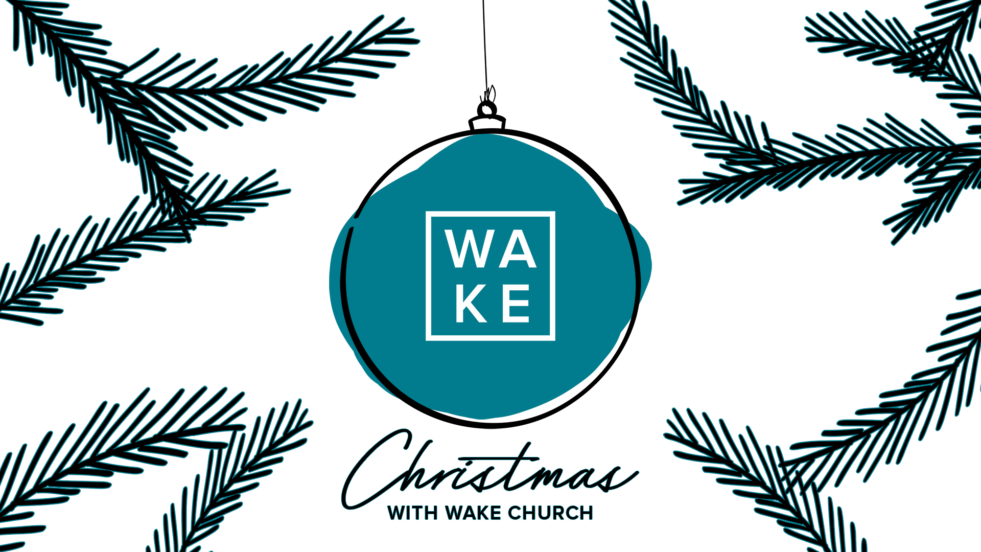 CHRISTMAS WITH WAKE - You are invite to our Christmas services on the 23rd and our Candlelight service on the 24th!