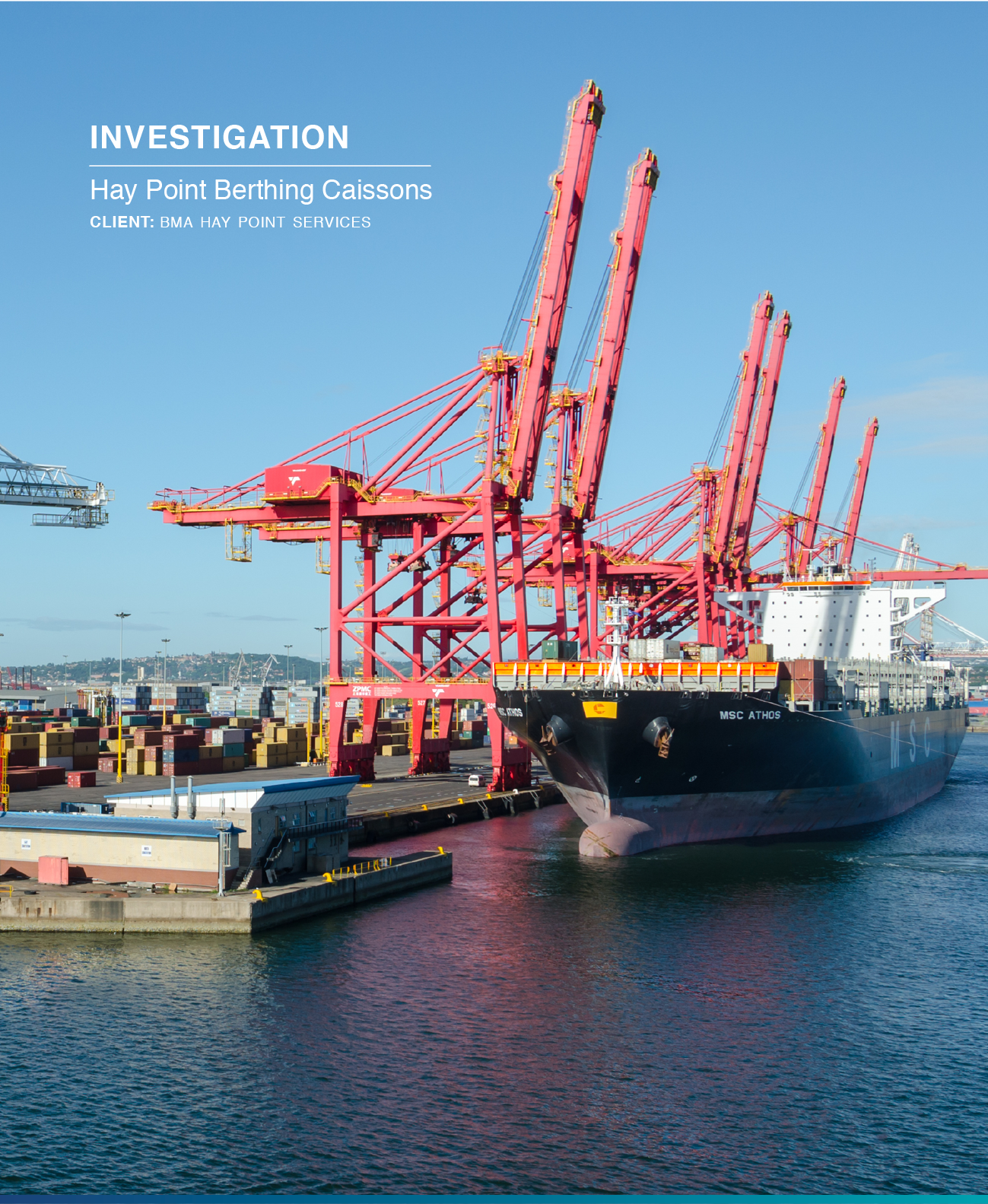 Click to view  Hay Point Berthing Caissons Case Study