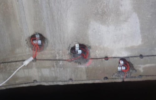 Hydro-demolition to strands to allow the establishment of electrical continuity required for any CP application.