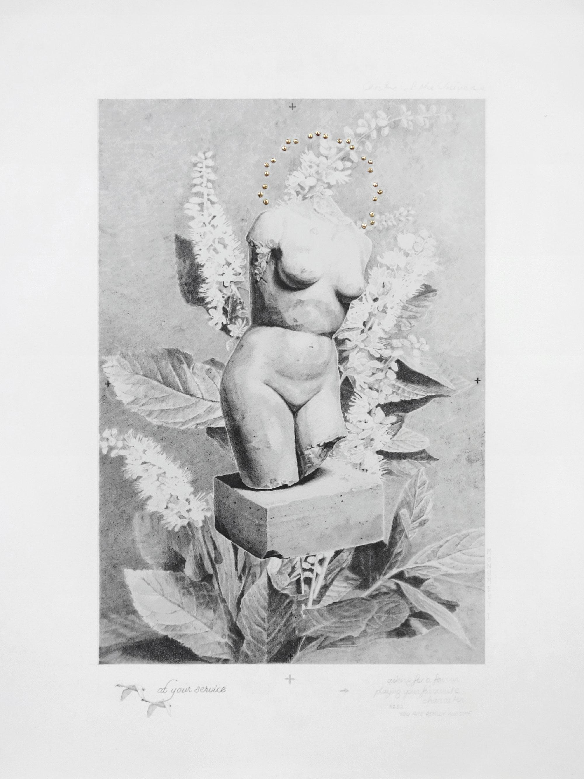 FORSAKEN MONUMENT (WOMAN)