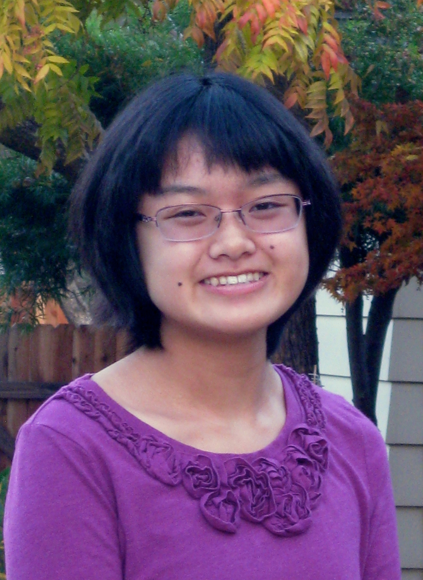 Emily Kobayashi   18, studying bioinformatics at UC Santa Cruz