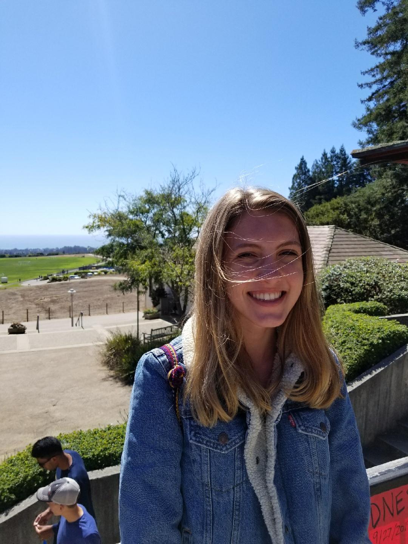 Morgan  Eidam   18, studying computer science at UC Santa Cruz