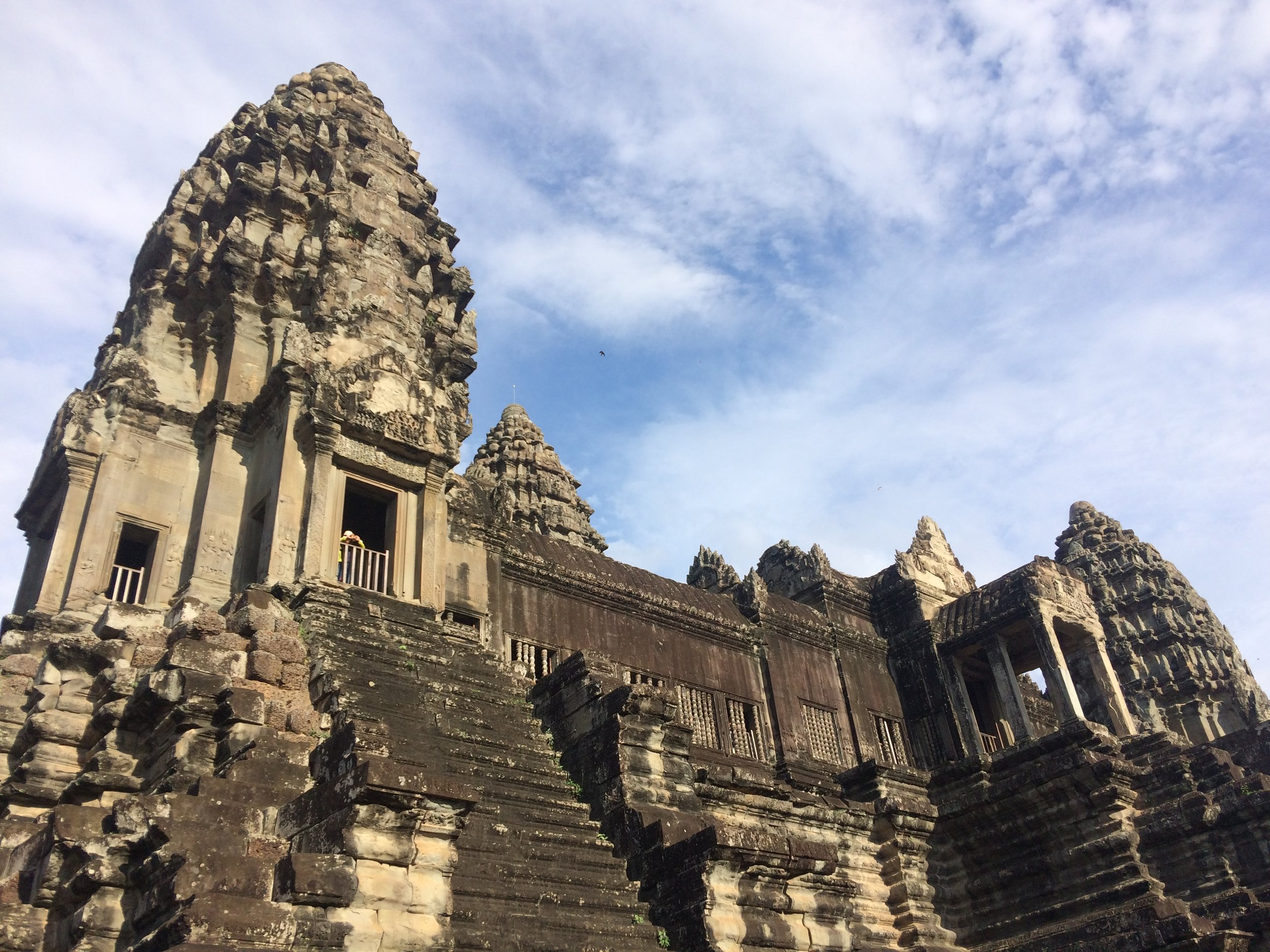 Some epic exploration between working and cycling in the temples of Angkor Watt, Cambodia