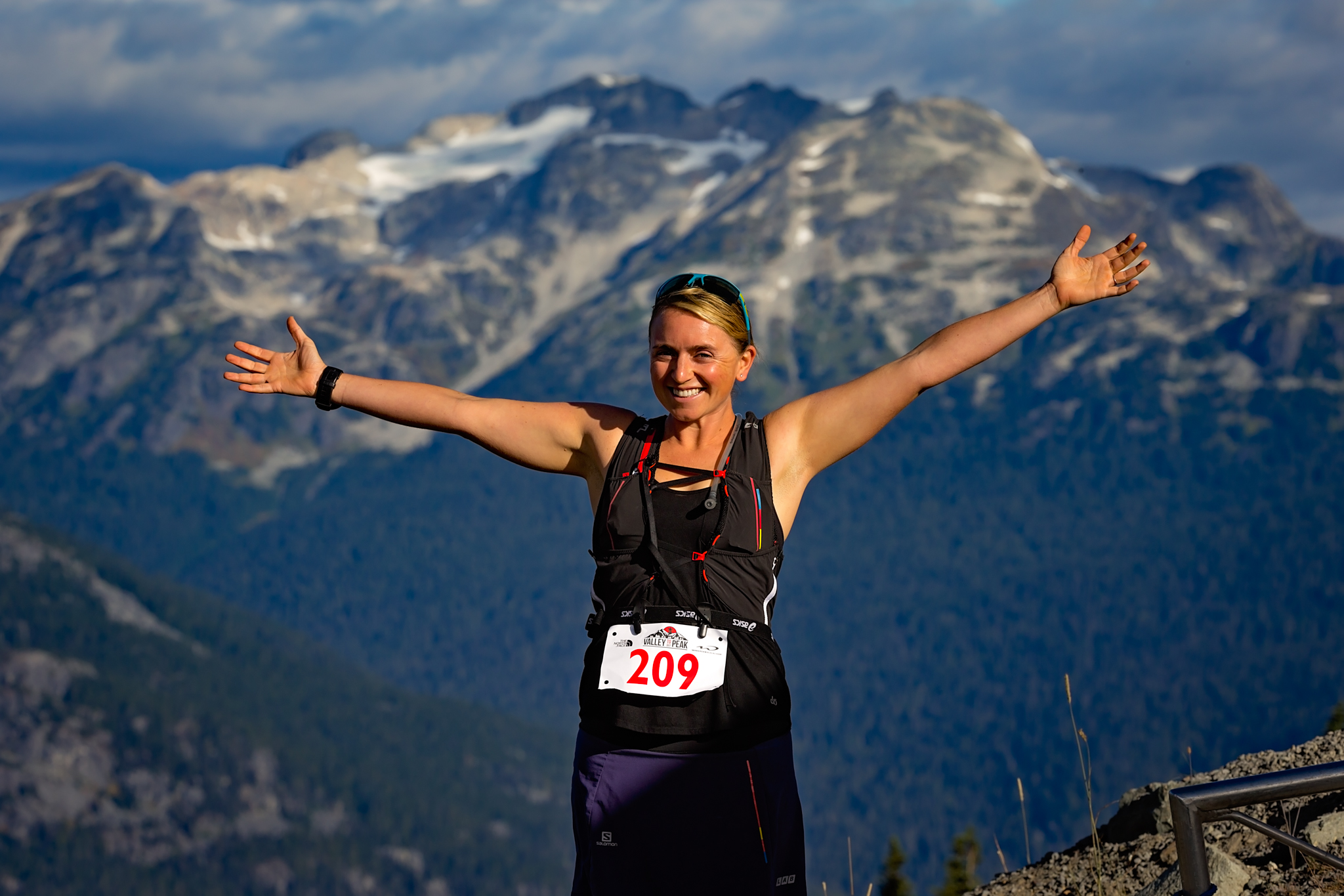 All smiles at the start of the Valley To Peak - Photo: Clint Trahan