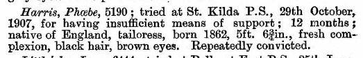 Victorian government gazette, 19 September 1908.