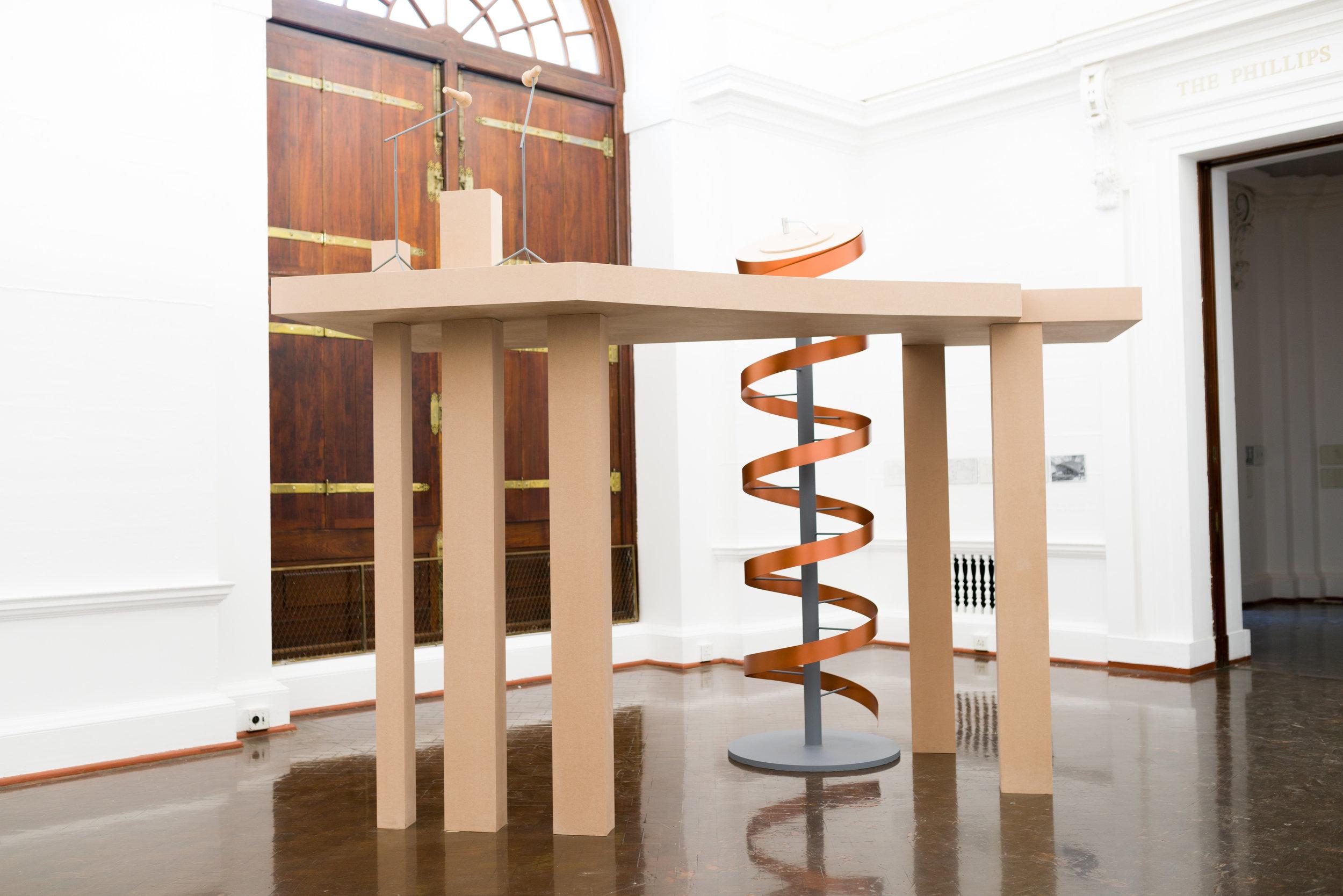 Ângela Ferreira, Remining (Drill tower)