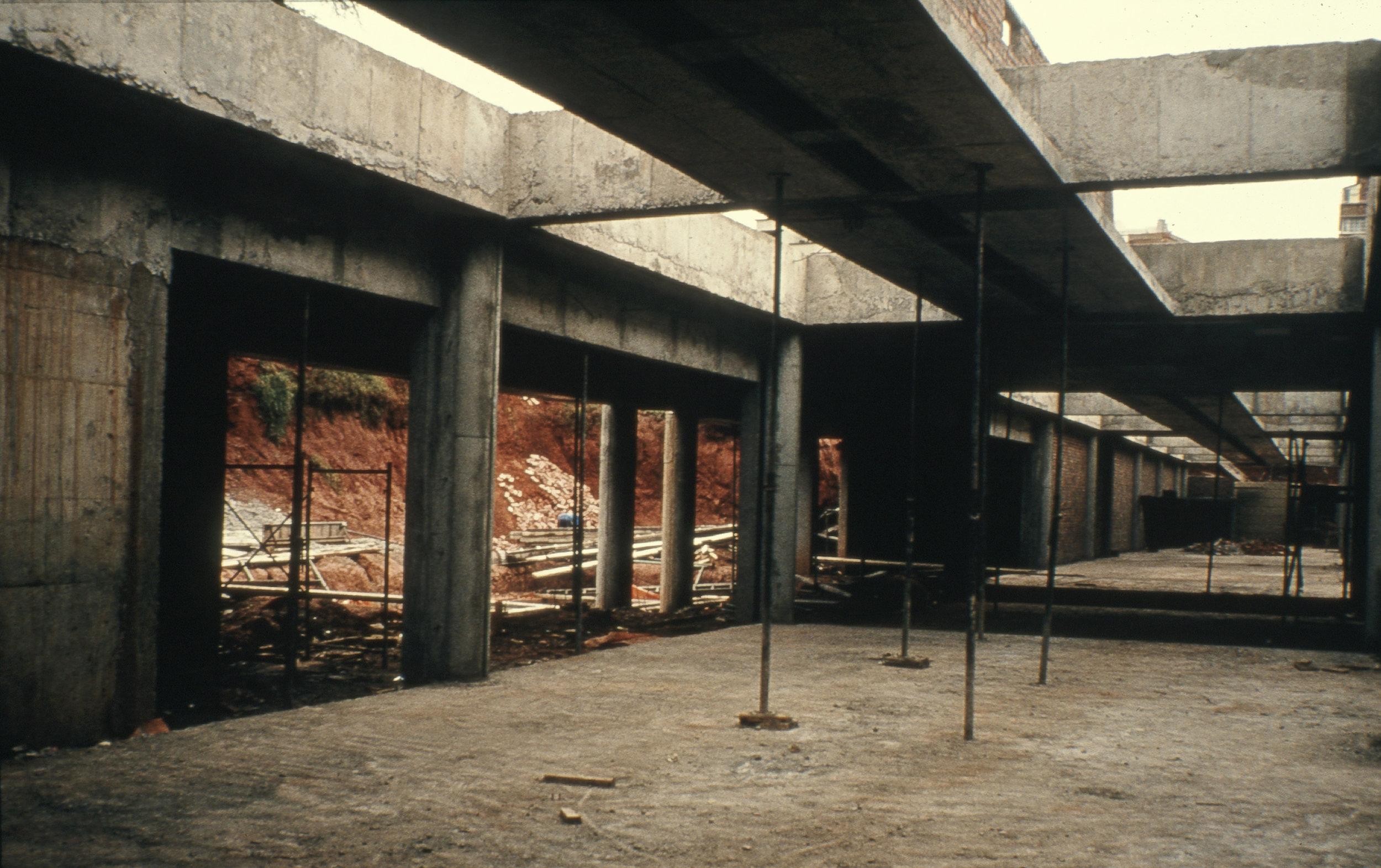 Johannesburg Art Gallery's Meyer Pienaar Extension under construction