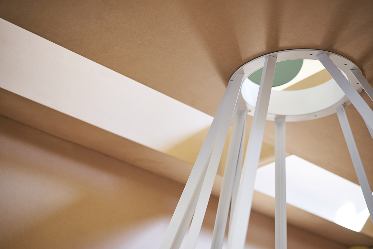 Detail: Ângela Ferreira, Remining (Mine building)