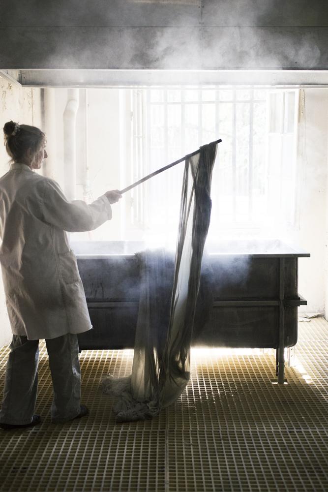 Manufacture des Gobelins - Atelier de teinture