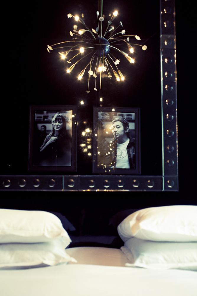 Hôtel Amour - Chambre noire Gainsbourg