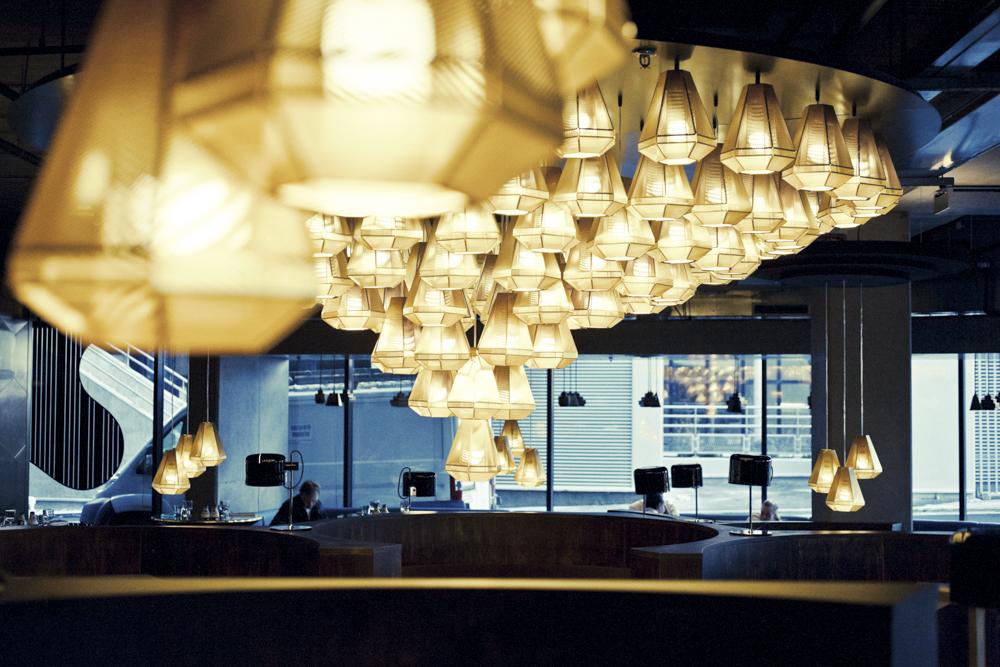 Restaurant Eclectic - Designer Tom Dixon