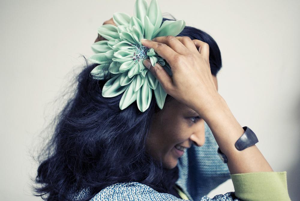 Karuna Balloo - Horticultrice textile