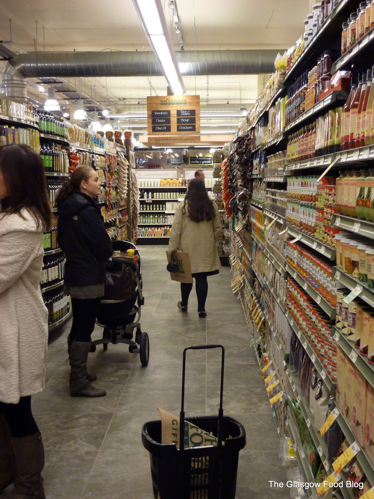 Yes, they have normal grocery aisles too
