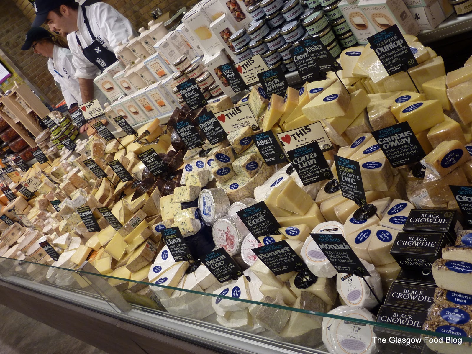 This cheese selection should come with a warning sign