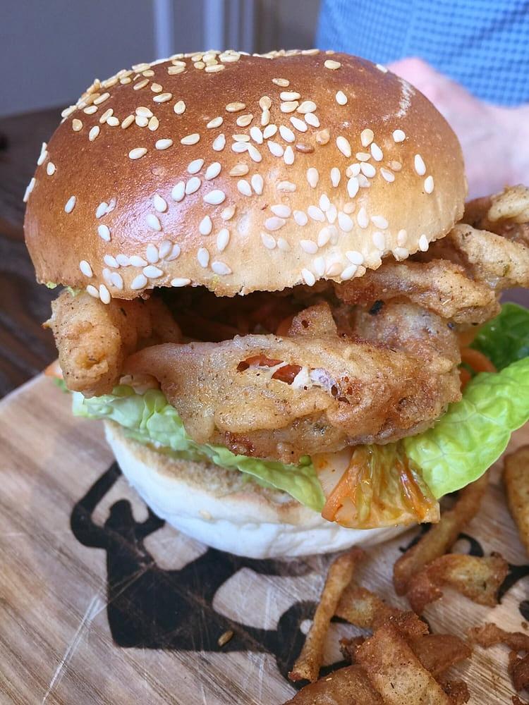 soft shell crab burger mcphabbs Glasgow