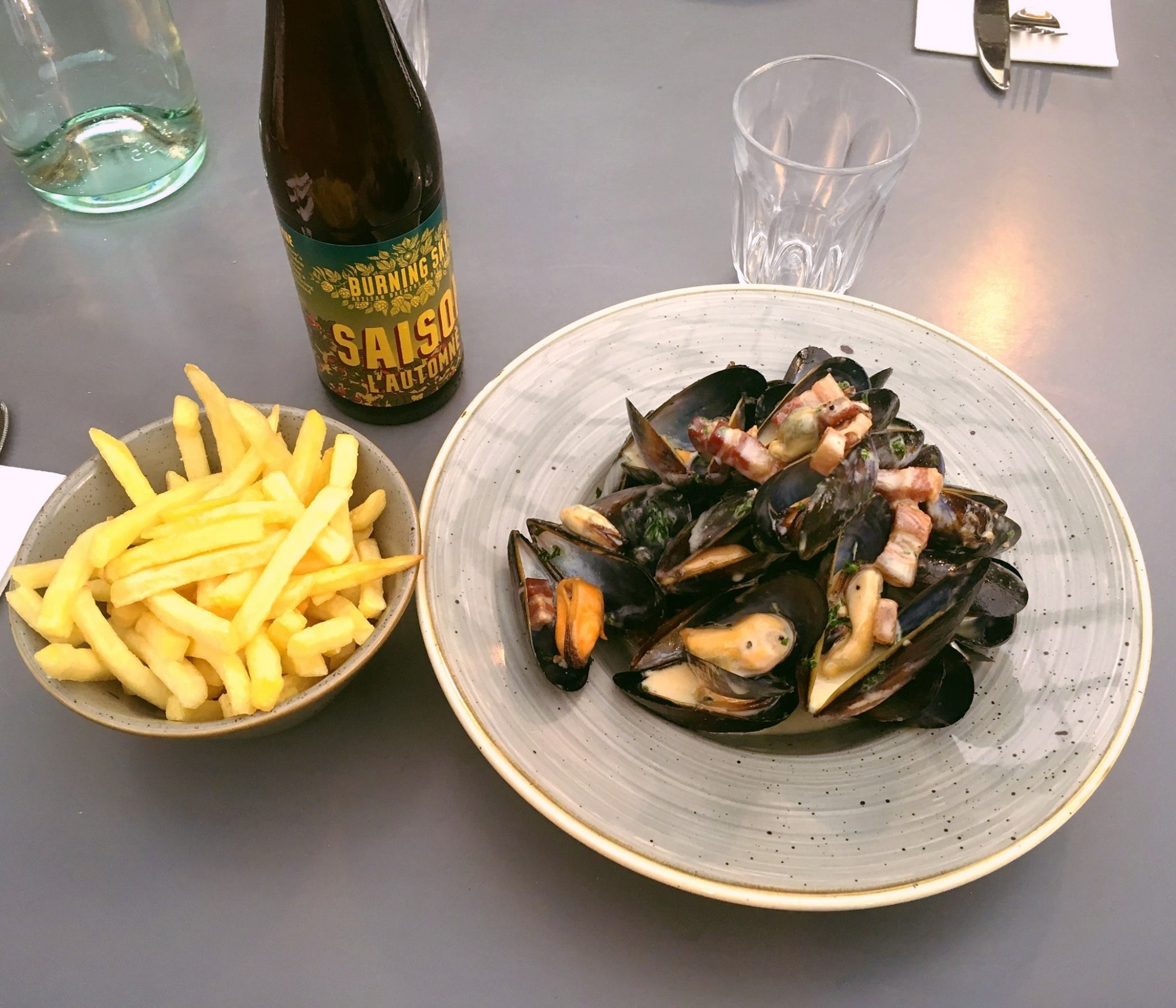Mussels at A'Challtainn Glasgow (via their facebook page)
