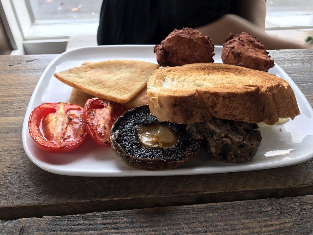 Lebowski's vegetarian breakfast