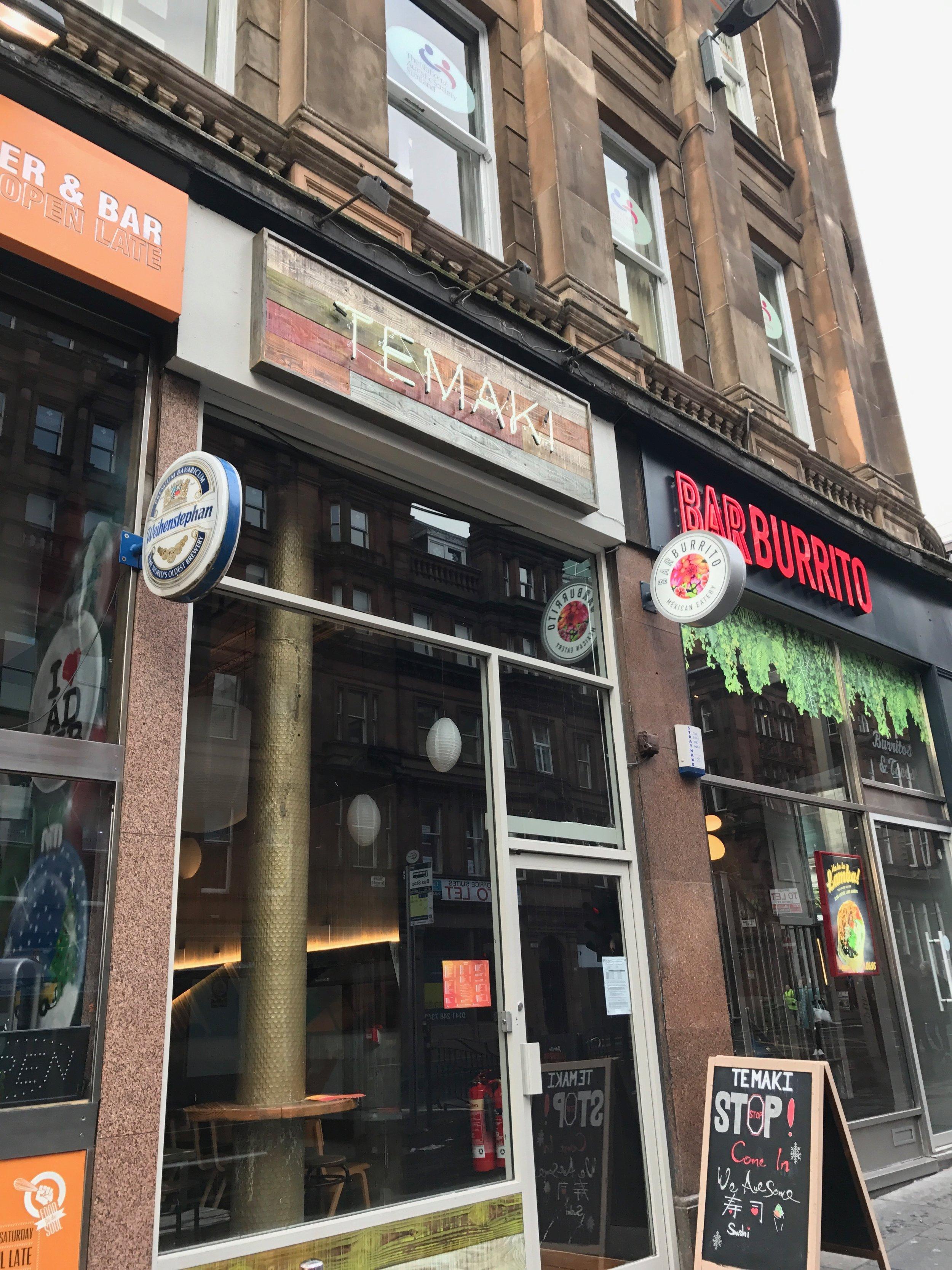 Temaki Glasgow Hope Street