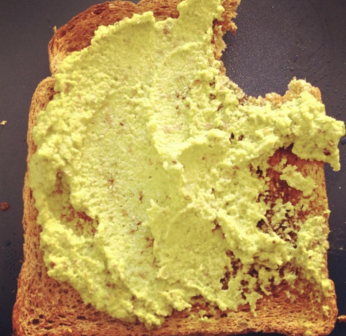 Toast crush i quit sugar