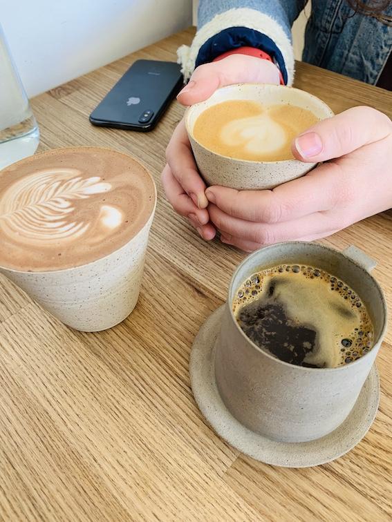 Kaf Coffee - mocha, cappuccino & Americano