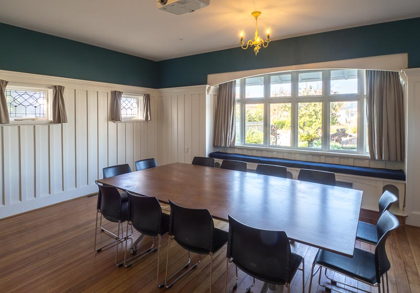 Ballroom Character Meeting Space Christchurch City Eco Villa Projector & Natural Light Large Windows-5.jpg