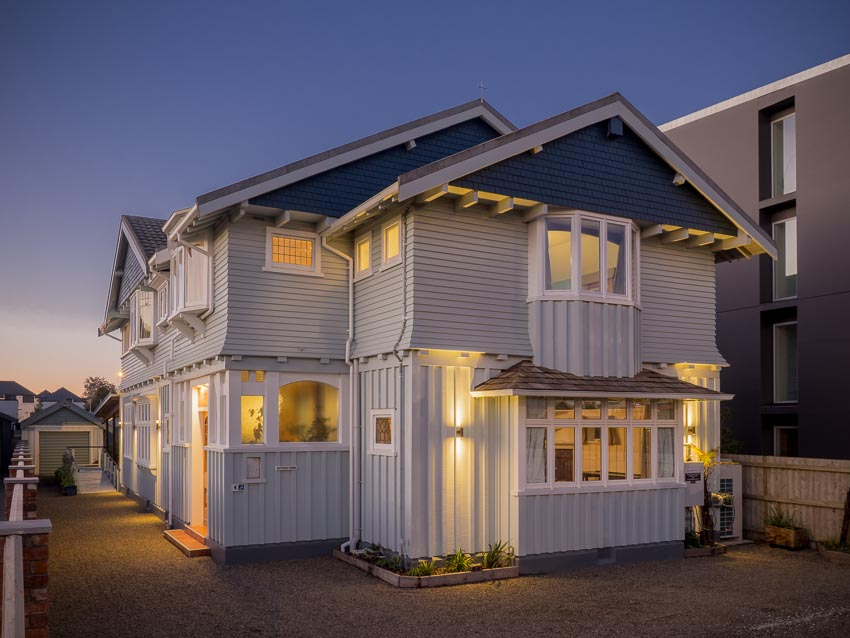 Twilight Eco Villa External Central Christchurch Boutique Accommodation Hotel Bed & Breakfast.jpg