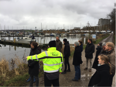 Guided tour of Kolding Harbour