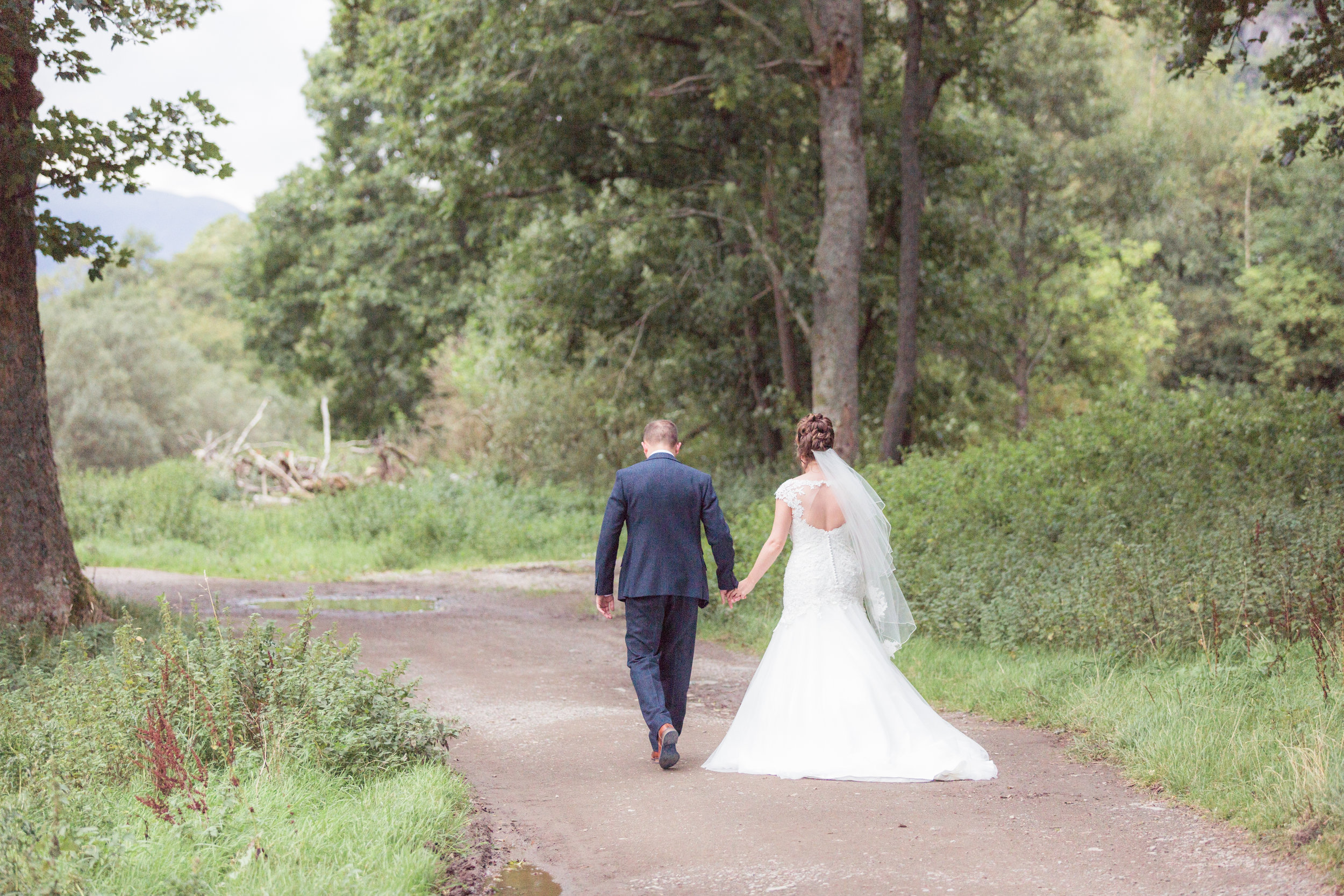 Caroline & Richard - WEdding ~ Lodore Falls Hotel