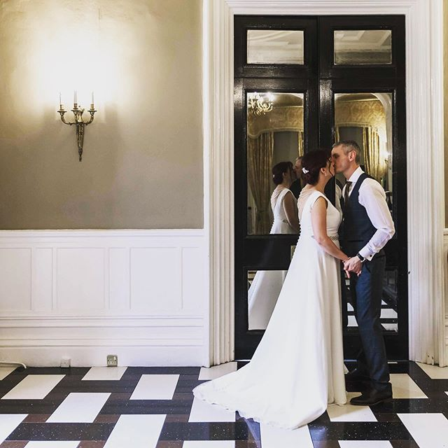 Perfectly framed in a doorway, on a staircase or in a grand hall... . . .  #elegantwedding #2020weddings #2020bride #elegantweddingphotography #thedailywedding #loveauthentic  #stylemepretty #aisleperfect  #thehappynow #gatheredstyle #fineartphotographer #fineartweddings #justengaged #weddinginspo #engagementphotographer #engagementsession #lancashireweddingvenue #countryhouseweddingvenue #countryhouseweddings #bridetobe #weddingideas  #weddingday #weddingdress  #weddinginspo  #weddinginspiration #silver #gold #deco #post