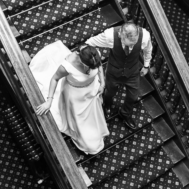 The bride and groom and a sweeping staircase, definitely a romantic moment worth capturing x. . . #weddingphotographer #weddingphotographers #engaged #thedailywedding #lancashireweddings #lancashireweddingphotographer #lancashireweddingvenue #loveauthentic #chasinglight #weddingseason #weddingchicks #loveintentionally #stylemepretty #aisleperfect #thehappynow #gatheredstyle #fineartphotographer #fineartweddings #justengaged #weddinginspo #engagementphotographer #engagementsession #lancashirebride