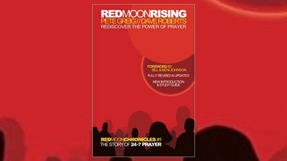 'Red Moon Rising: Rediscover the Power of Prayer' - St Andrews Bookshop