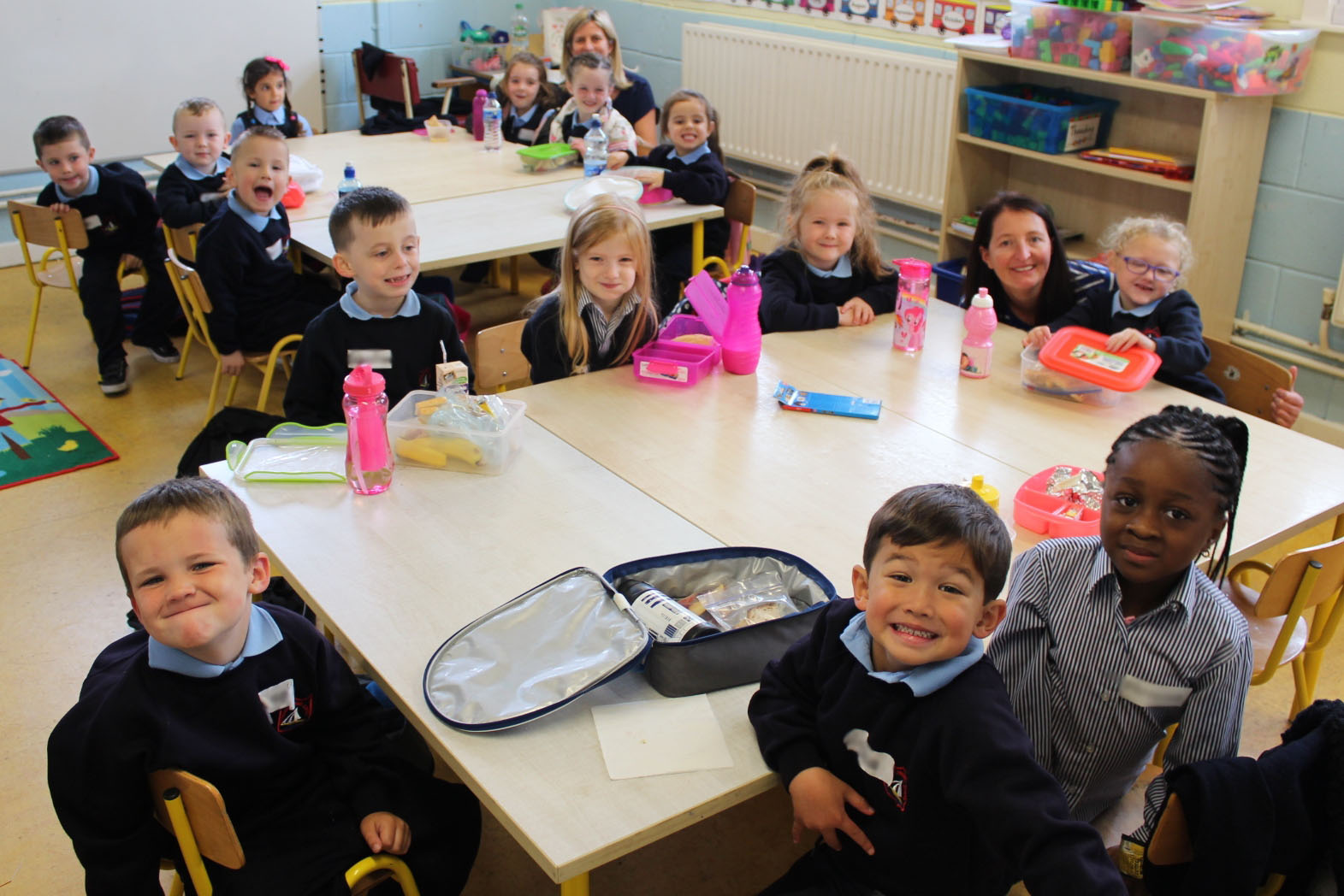 Junior Infants 2018-2019 First Day at School Walsh.JPG