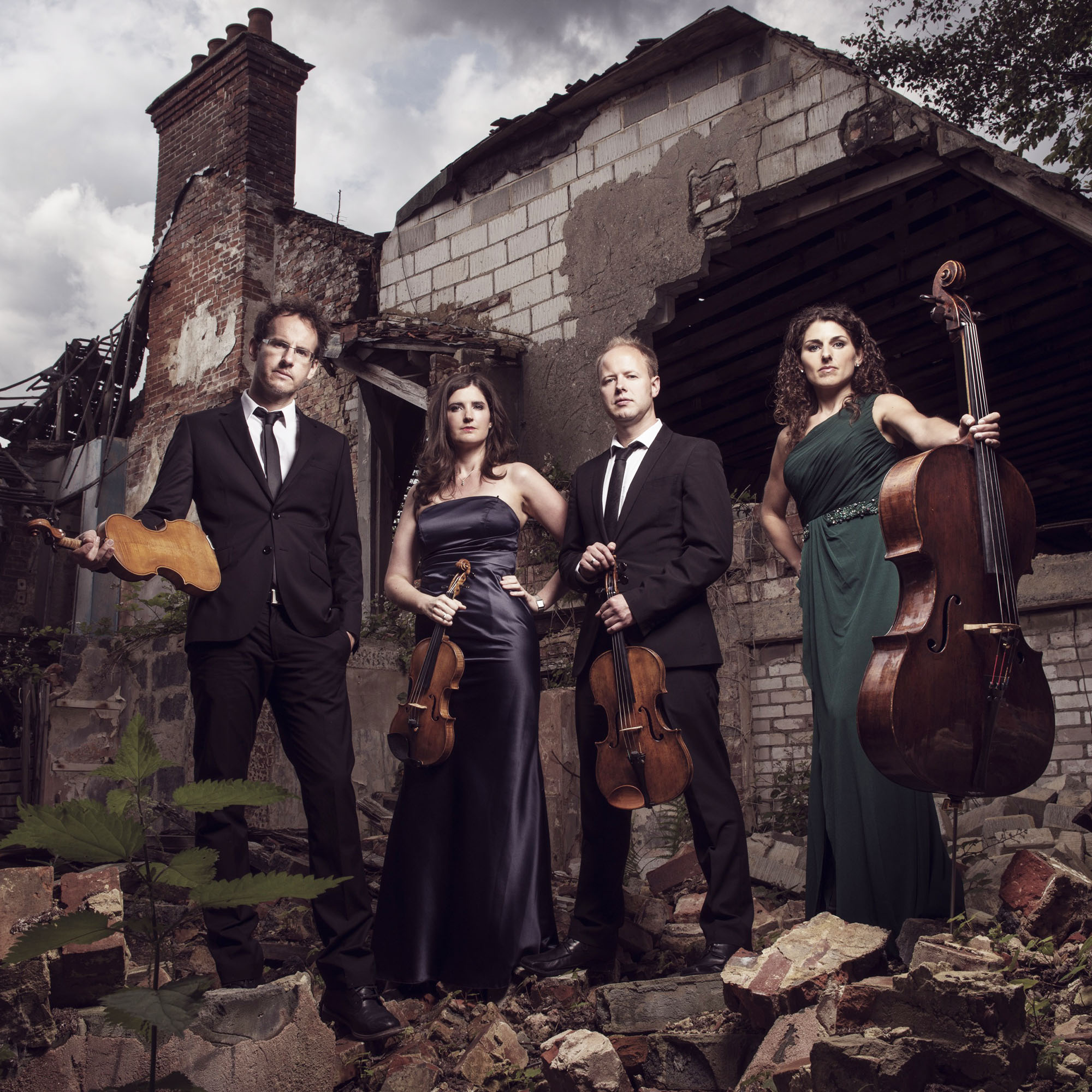 Carducci String Quartet © Andy Holdsworth Photography