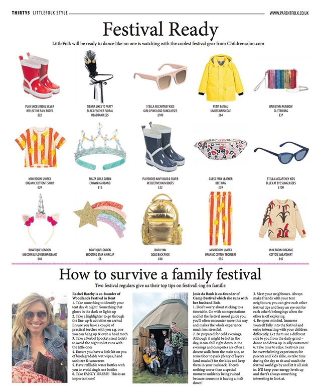 Too late for Woodlands but still some handy hints! . #familyfestivals #familyfun #inafield #camping #glamping #kids #kidsfashion #festivalware #whattotake #woodlands