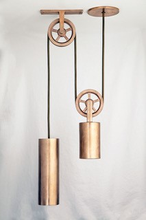 Sun Valley Bronze | Pendant Pulley Light