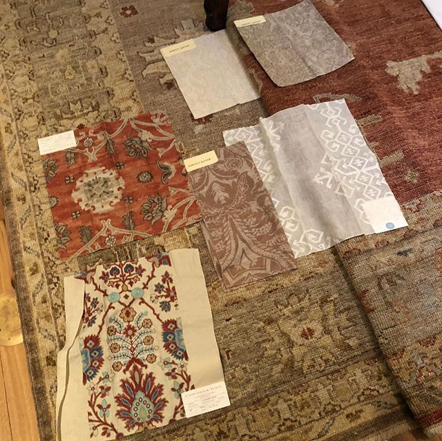 Had the pleasure of working on rug selections today with our friends at @azadifinerugs Never a bad option!  #finerugs #interiordesign #designerlife #luxury #scottsdale #estancia #turkishrugs #southwestisbest #loveit