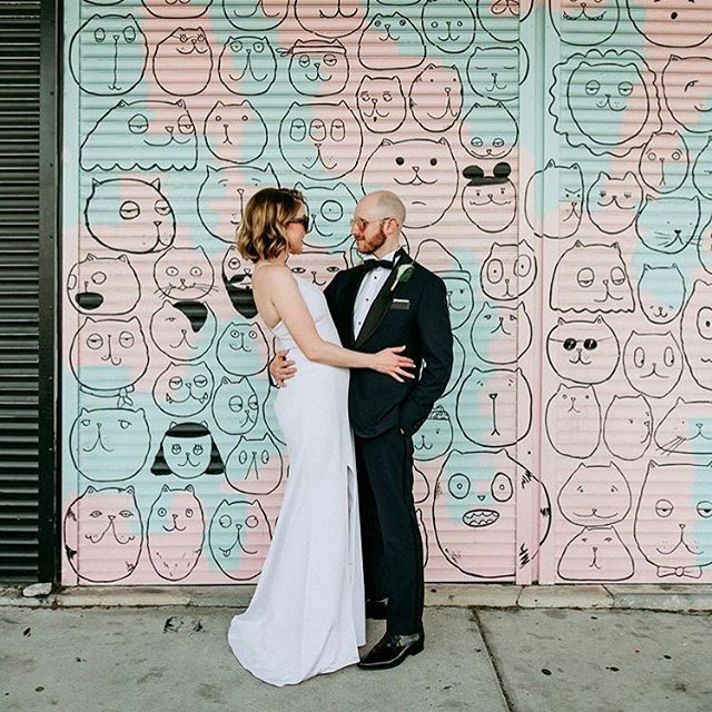 Tampa B O U N D // these two are all style and grace with this perfect pastel backdrop // congrats Margaret and Eli!! 💕 . . . . #weddingstyle #bridalinspiration #modernbride #bridalstyle #whitedress #bridal #weddingdress #nycbride #whitestory #minimal #realbride #modern #weddings #portrait #modernstyle #portraits #modernwedding #white #editorial #lookbook #tampastyle
