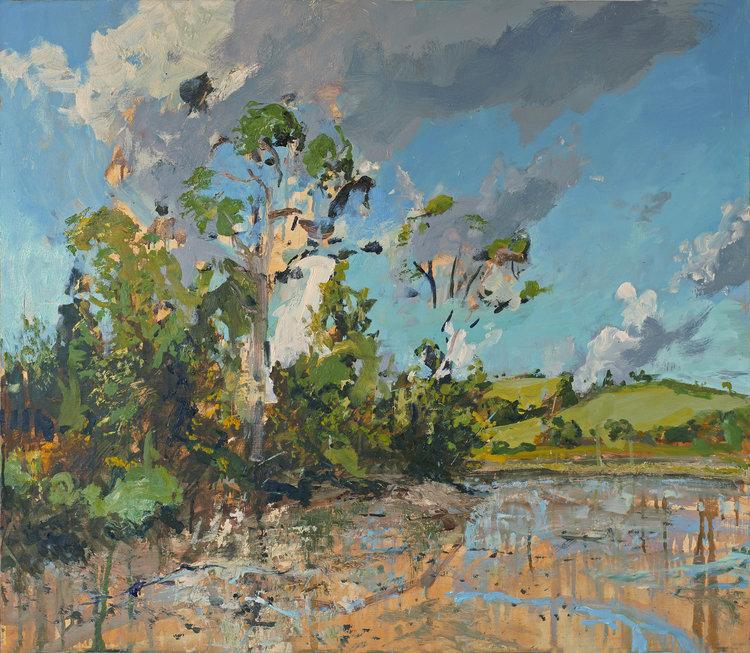 St Just Autumn Light ( Oil on Panel ) 73.4 x 86 cm