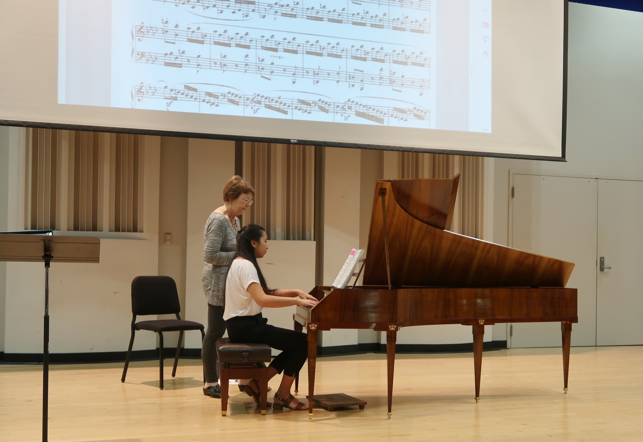 Guest Workshop on Fortepiano