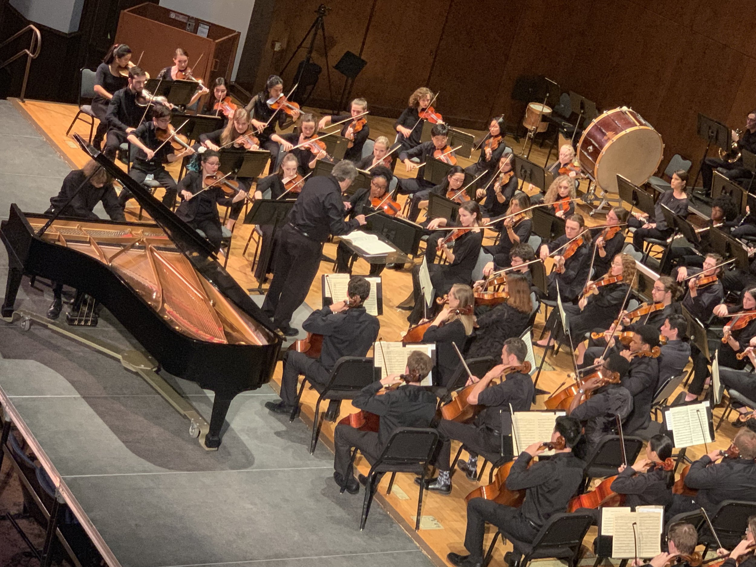 Concerto Competition Winner, Bolton Ellenberg with UF Symphony Orchestra