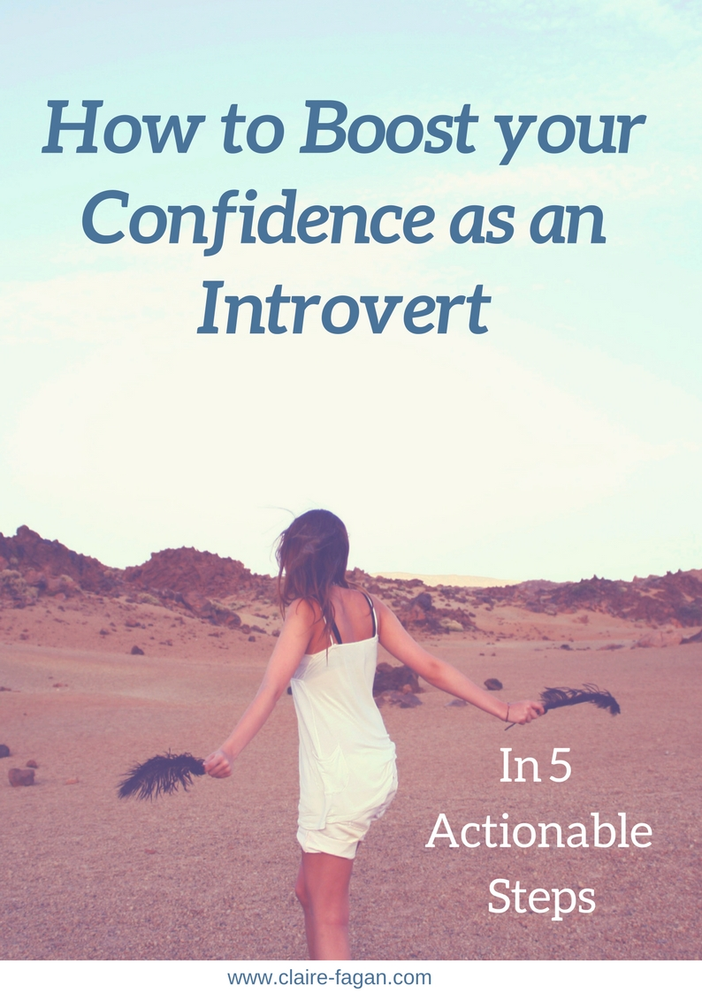 FREE EBOOK - How to Boost Your Confidence As An Introvert in 5 Actionable Steps
