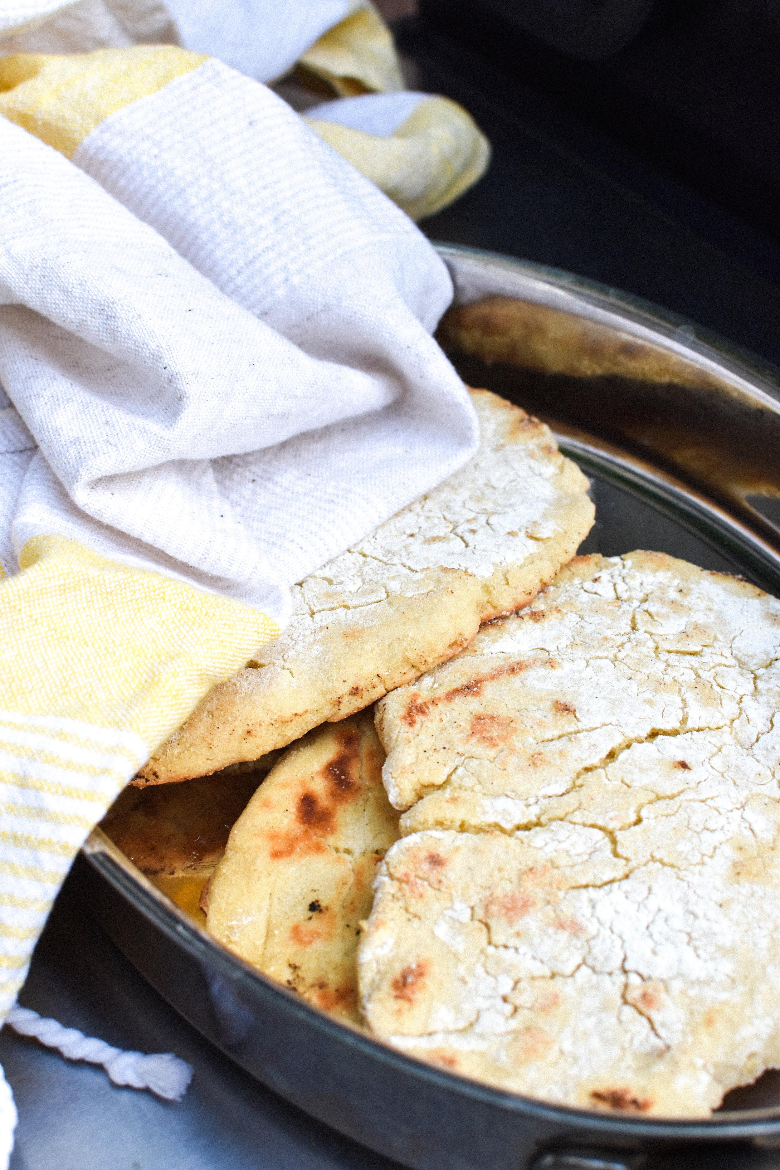 grilled naan bread {vegan + gluten-free} - Make Mary