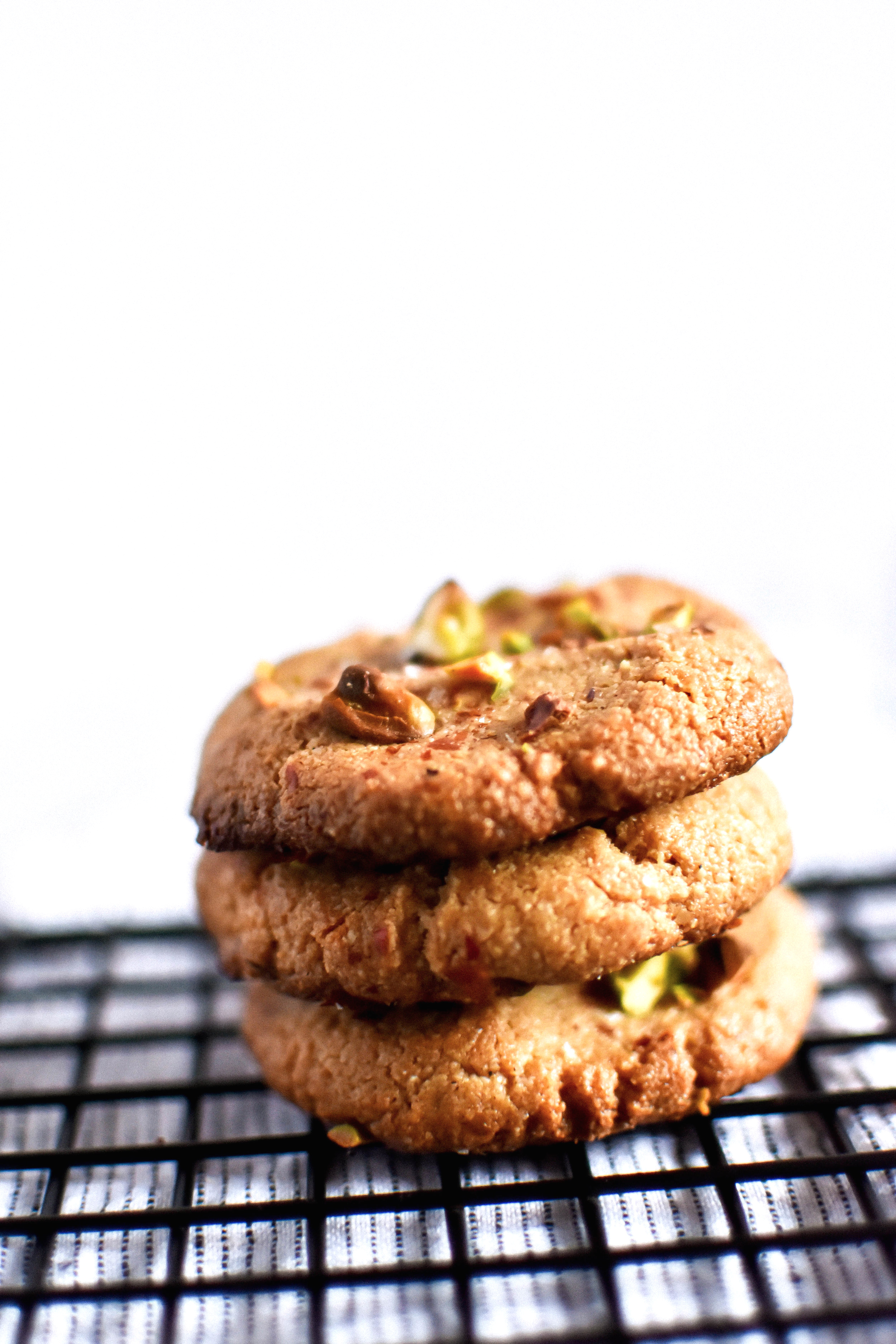 Easy Vegan and Gluten-free Tahini Cookies