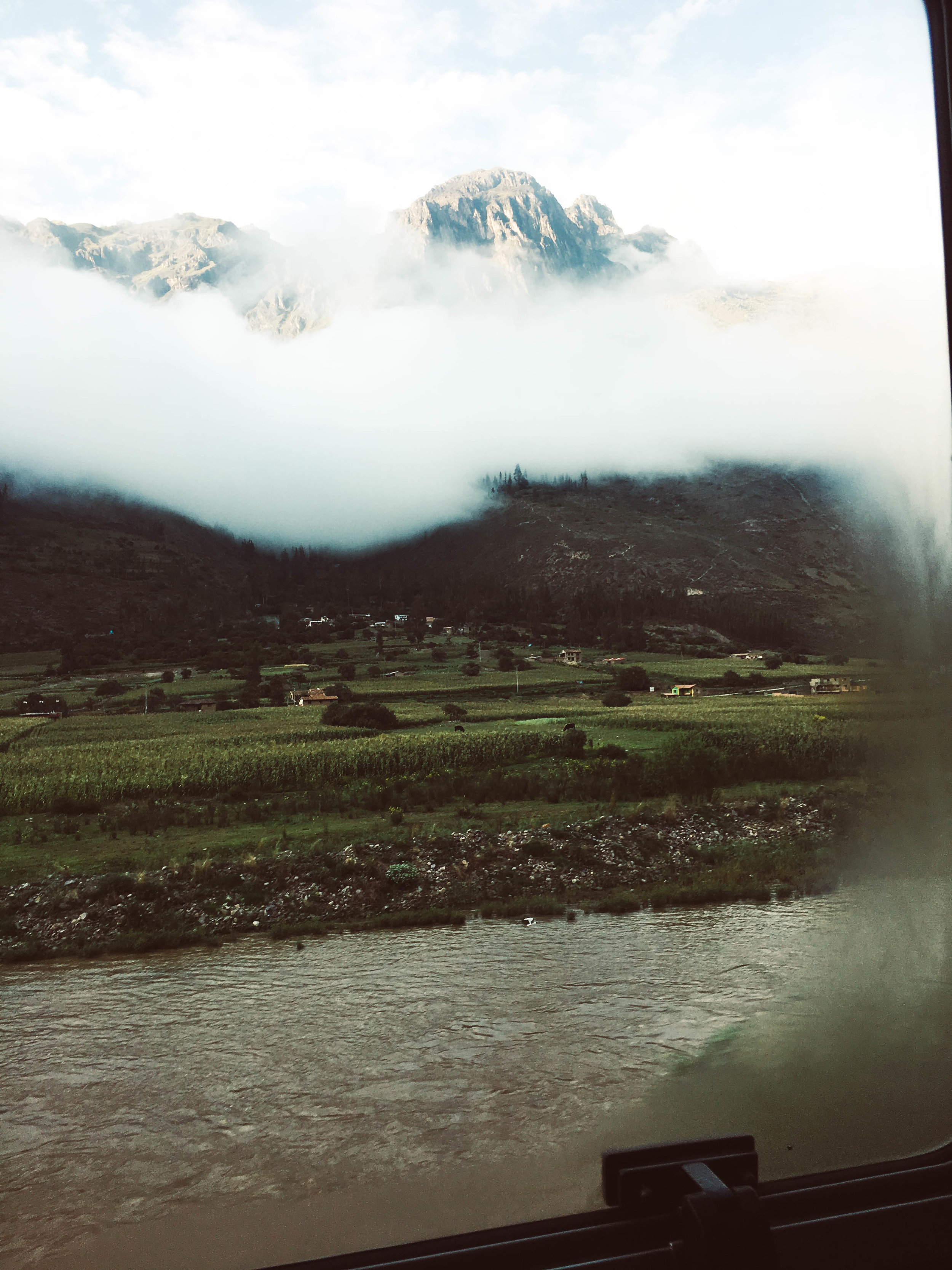 Train Ride to Aguas Caliente