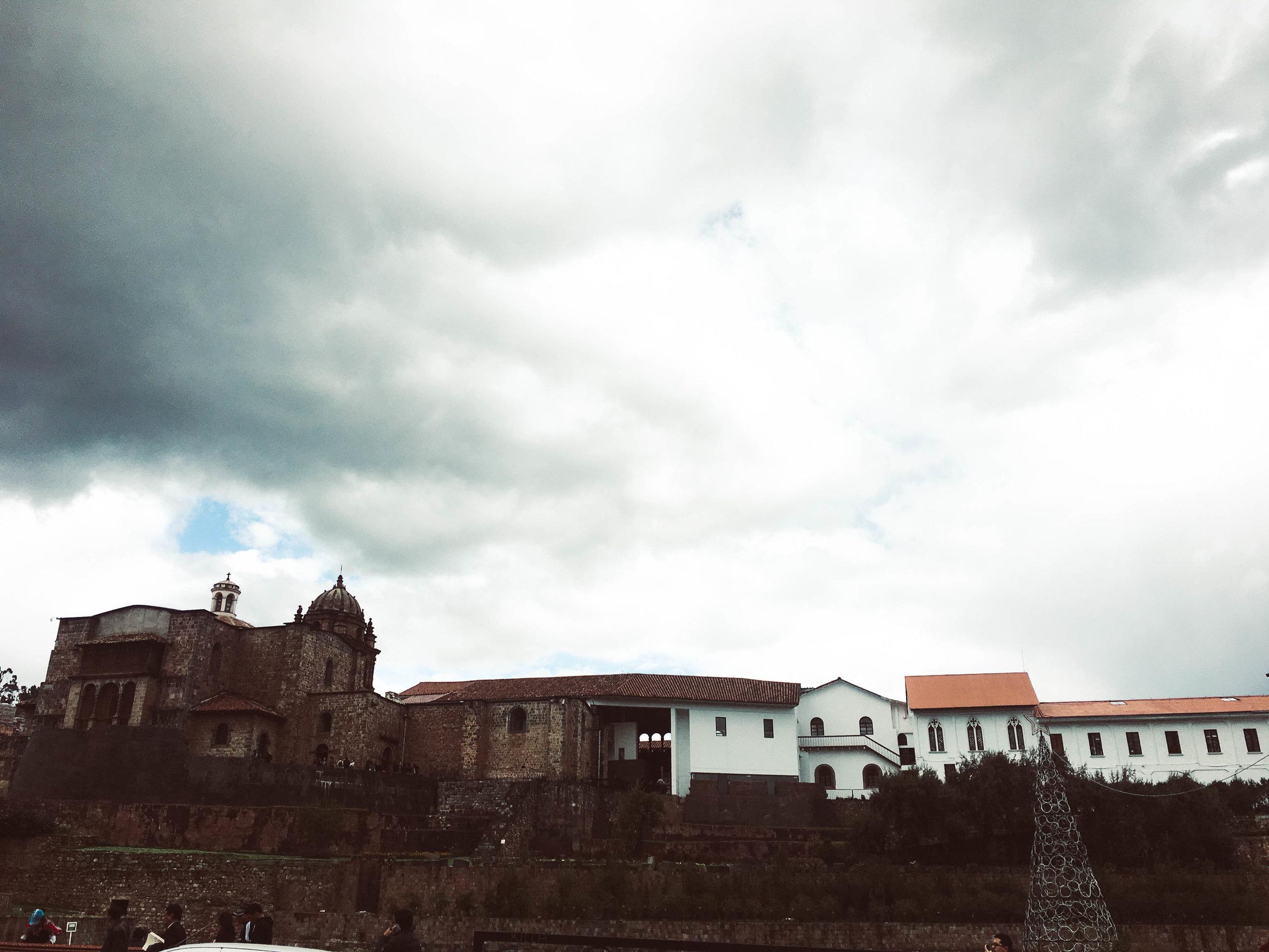 Qurikancha ruins and museum