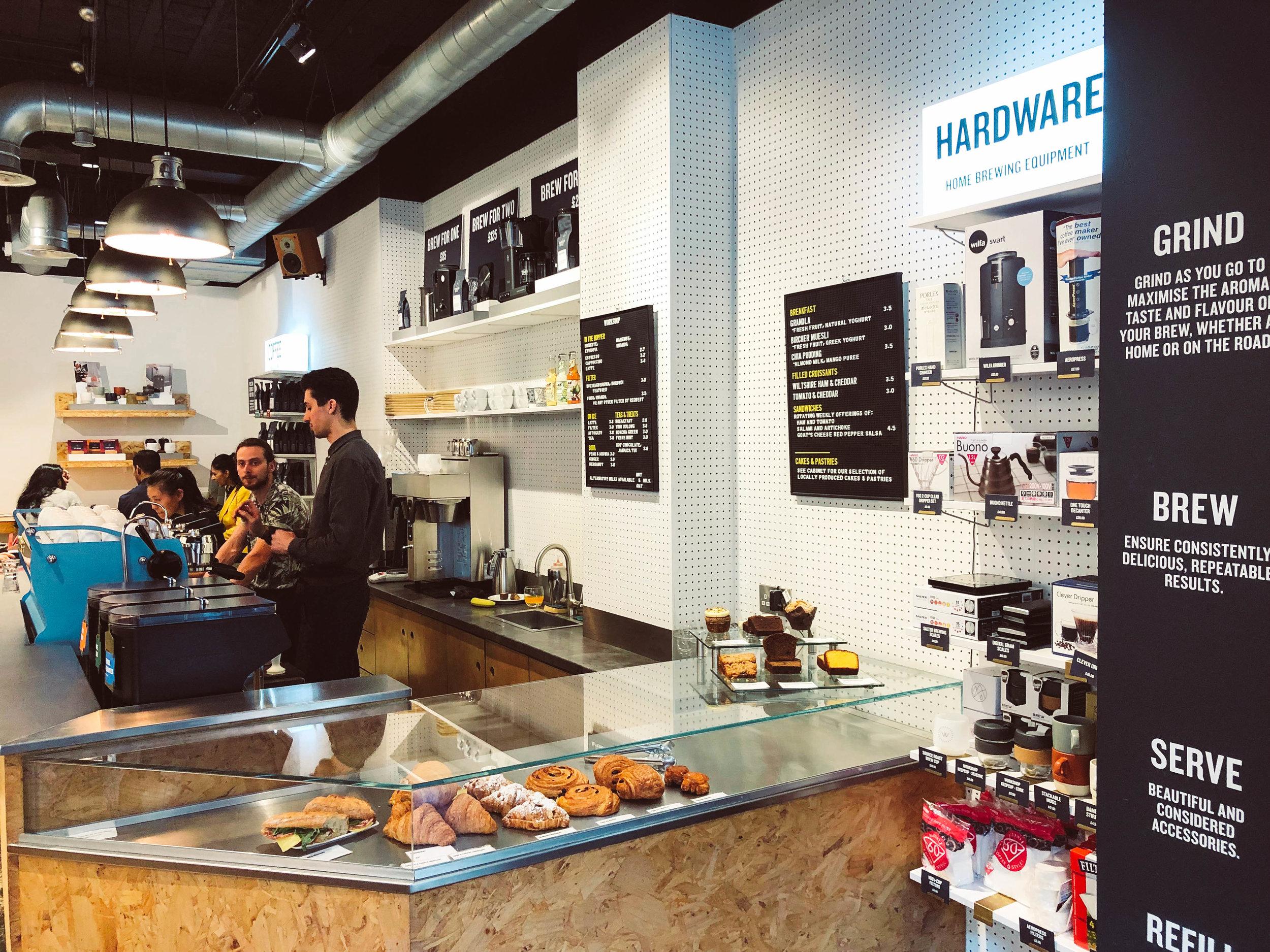 Workshop Coffee in London