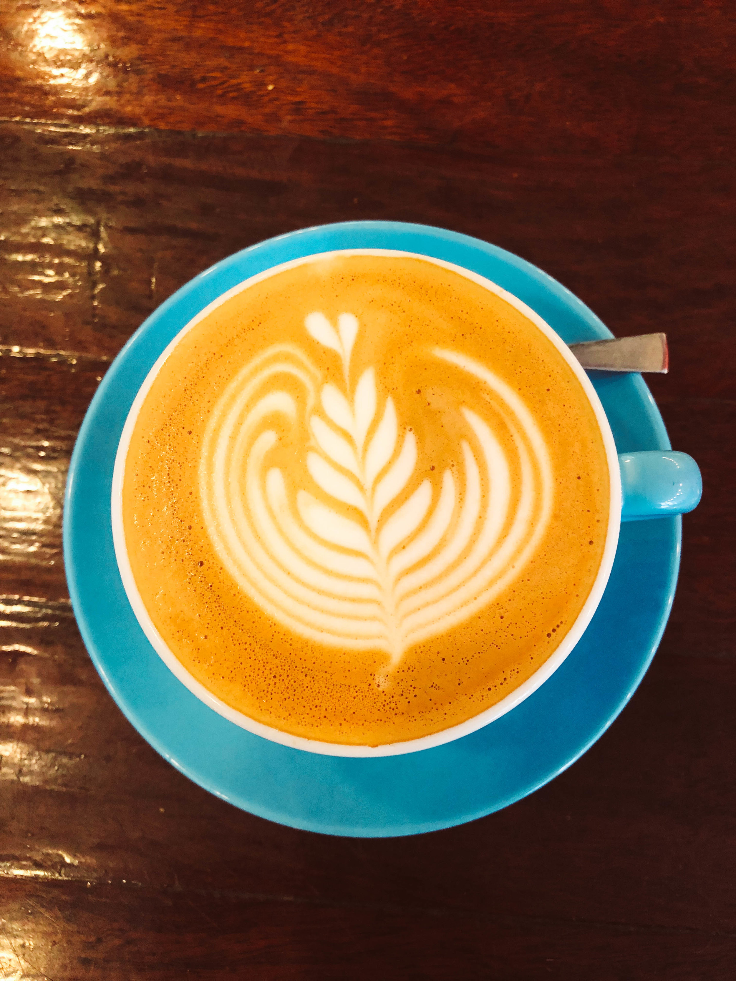 Flat white from Prufrock Coffee London