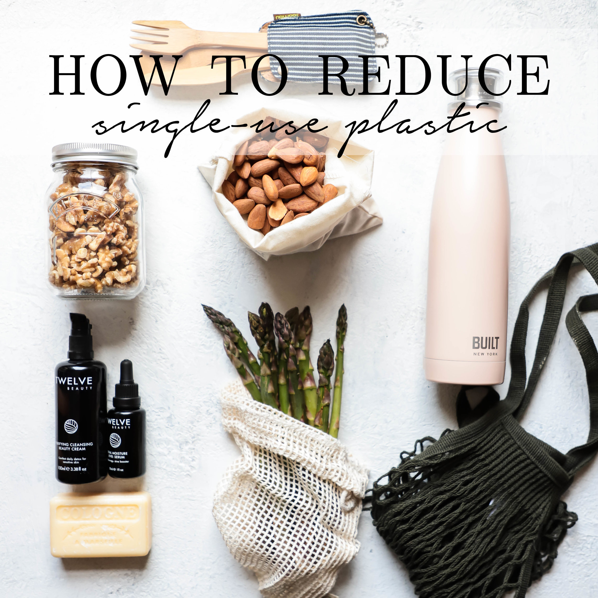 ways to reduce single-use plastic